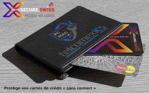 X-secure protège vos cartes de crédit RFID - NFC