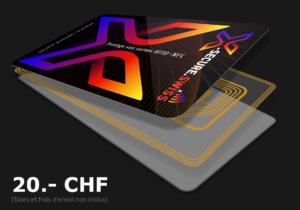 X-Secure protège vos cartes de crédit sans contact